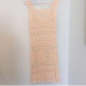 NWOT crochet dress